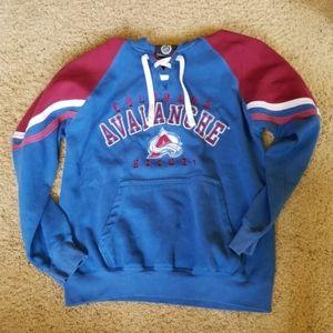 Colorado Avalanche vintage NHL hockey hoody